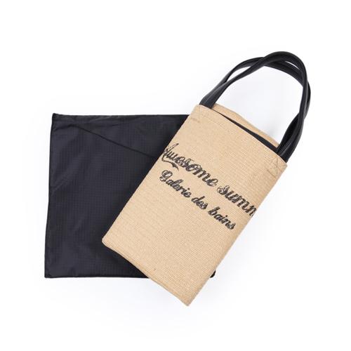 中敷きを取って、コンパクトに折りたためるので、旅行などのサブバッグに最適★