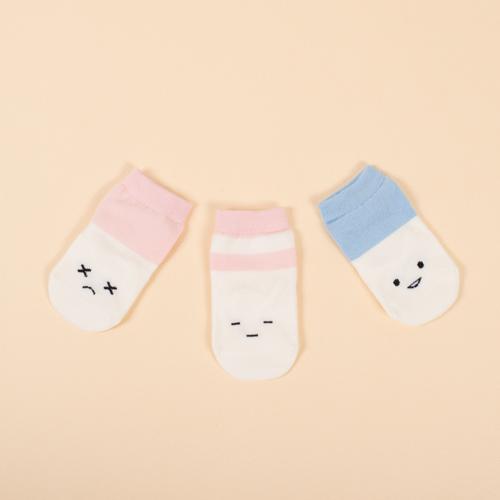 新生児から1歳までの、高品質で茶目っ気のあるデザインがキュートなソックス