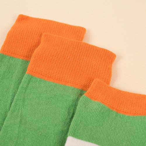 赤ちゃんのデリケートな肌にも優しく快適なコットンを使用し、特殊な編み方により足首の締めつけを和らげます◎